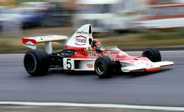 Emerson Fittipaldi, Campione del Mondo nel 1974 con il numero 5