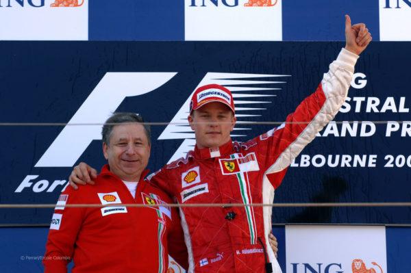 Raikkonen Ferrari
