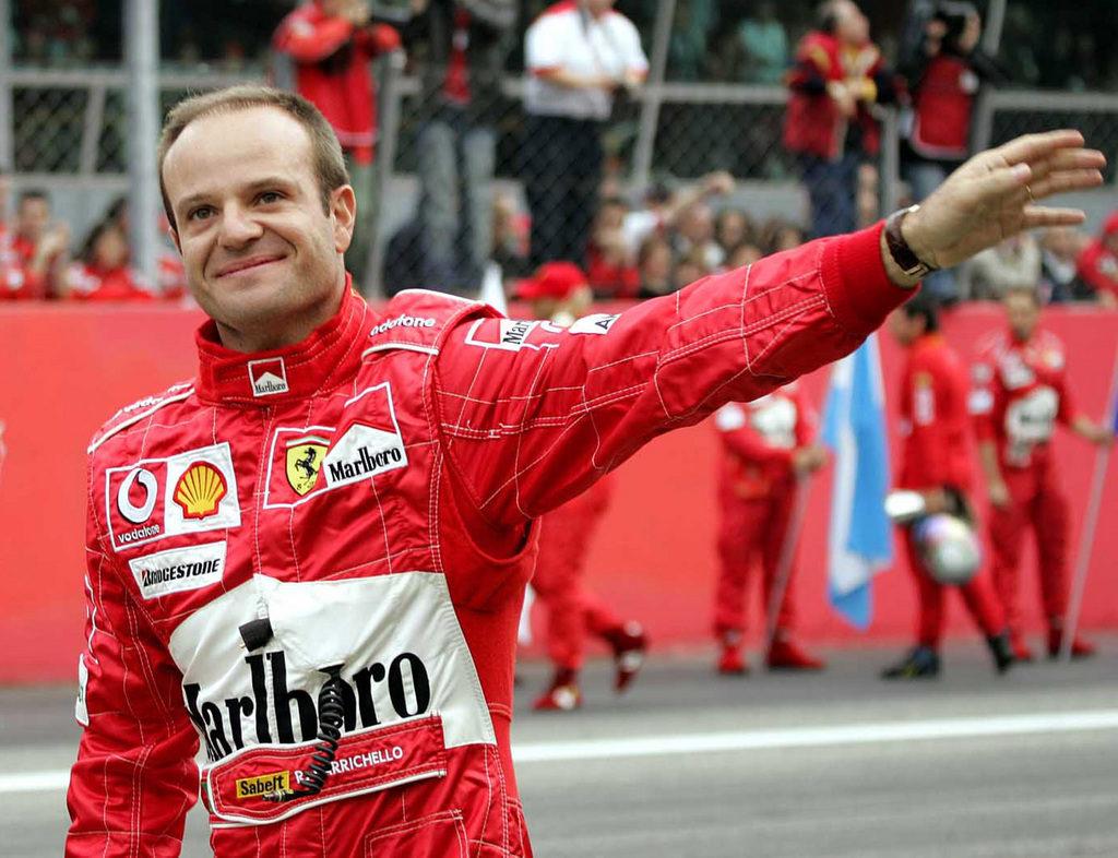 Barrichello Ferrari