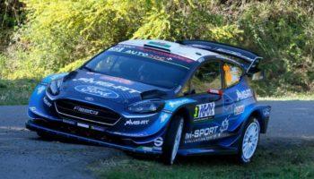 Super Evans in apertura del Corsica, Tanak e Neuville inseguono da vicino