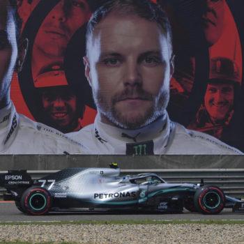 Bottas è inarrestabile in Cina: la Pole è sua! 2° Hamilton davanti alle Ferrari, sbaglia Verstappen
