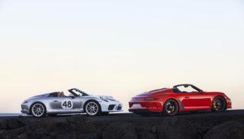 Porsche 911 Speedster: il colpo di coda della 991 pensato per i puristi