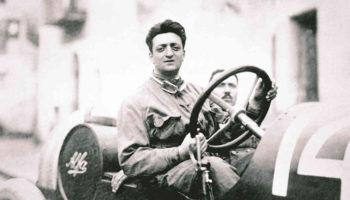 Enzo Ferrari da giovane