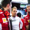 """Vettel fermato da un problema di pressione dell'aria: """"E' un peccato finire le qualifiche così"""""""