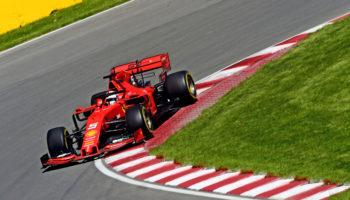 """Le Ferrari abbattono il muro dell'1'11"""" nelle FP3 del Canada. Hamilton insegue a 3 decimi"""