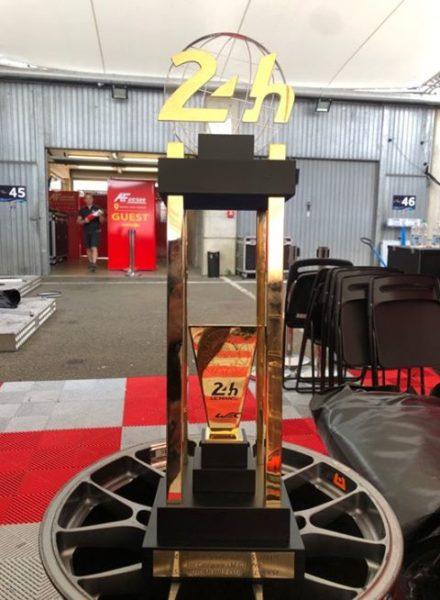 Il trofeo della 24 Ore di Le Mans 2019 - Foto di Augusto Angelelli, membro di AF Corse