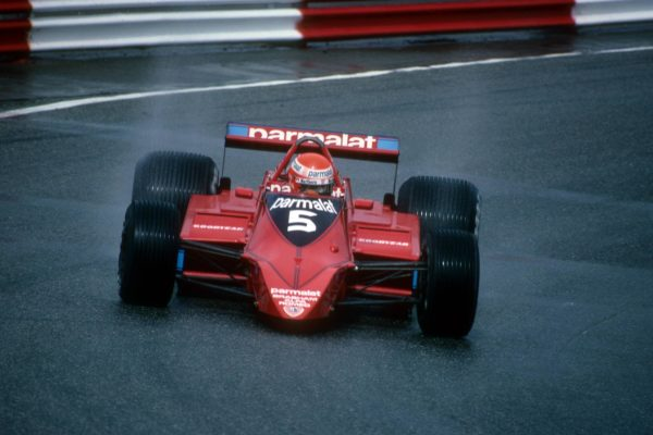 Niki Lauda al volante della Brabham durante la stagione 1979
