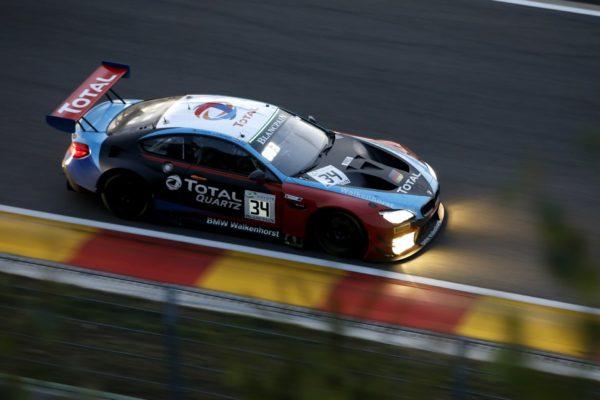 Il team Walkenhorst Motorsport, vincitore dell'anno passato con la Bmw M6 Gt3 e che proverà a replicare anche in questa edizione