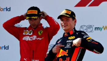 """Verstappen: """"Leclerc mi ha spinto fuori!"""". Leclerc: """"Incidente di gara"""". Ma era il 2012"""