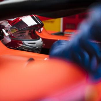 Le fredde ed umide FP1 di Monza se le prende Leclerc. 8° Vettel, a muro Raikkonen