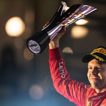 La gioia composta di Sebastian Vettel ha un perché