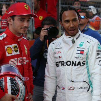 """Hamilton: """"Niente party mode, le Ferrari hanno il jet mode! Cercherò di usare la scia di Leclerc"""""""