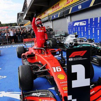"""Leclerc: """"Difficile godersi davvero la vittoria. Seb fondamentale, ora testa a Monza"""""""