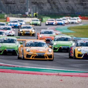 Il Porsche Festival sbarca a Misano con il Carrera Cup, Vanzini al volante e Federica Masolin