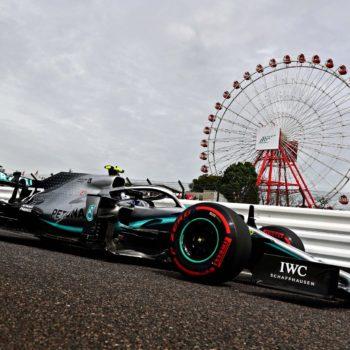 Le FP2 di Suzuka se le prende Bottas. 2° Hamilton, Verstappen davanti alle Ferrari