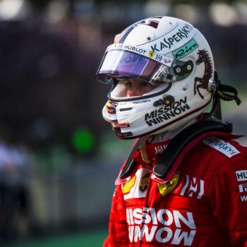 """Vettel: """"Andavo dritto e pensavo di essere già davanti. Responsabilità? Credo non solo mia"""""""