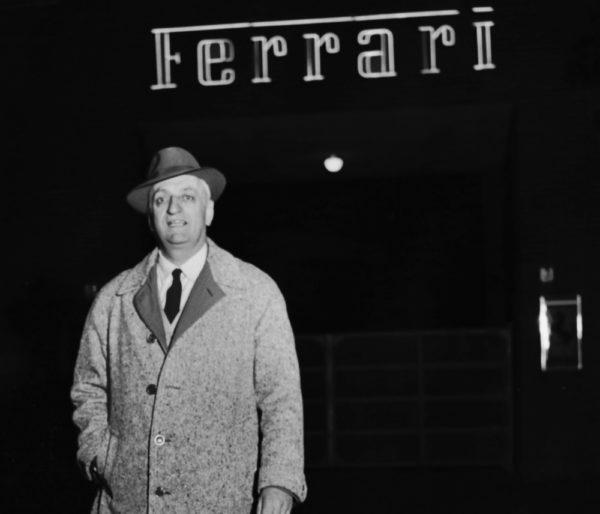 Italian car manufacturer Enzo Ferrari (1898 - 1988) outside the Ferrari premises, circa 1960. (Photo by Keystone/Hulton Archive/Getty Images)