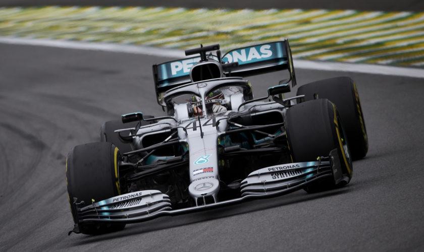 Hamilton si prende le FP3 di Interlagos. 2° Verstappen, Ferrari lavora ancora sui long run