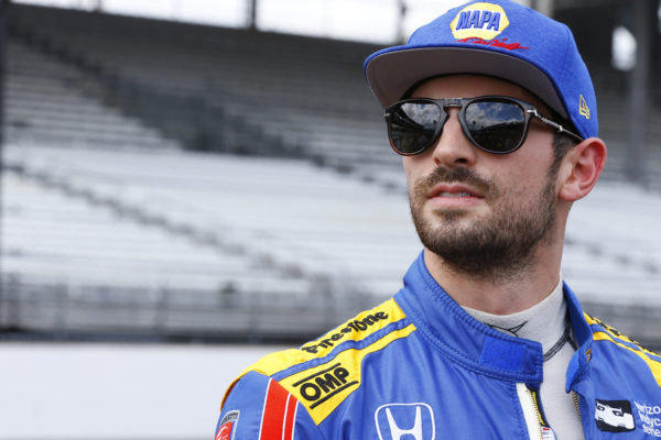 Rossi a Indianapolis