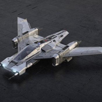Porsche ha realizzato un'astronave per il nuovo Star Wars: ecco la Pegasus Starfighter