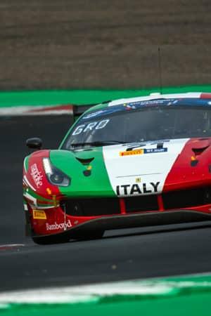 Roda a Monza con Rovera e Hudspeth nel GT World Challenge Europe