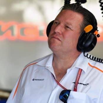 """Zak Brown: """"Carlos e Lando? Non mi innervosiscono quando lottano. I piloti Haas invece sì"""""""