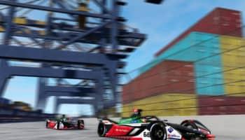 Un simdriver guida al suo posto nella gara virtuale di FE: Daniel Abt multato e squalificato