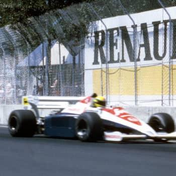 GP Dallas 1984: Ayrton Senna ed il ritiro per via del…muro che si era spostato