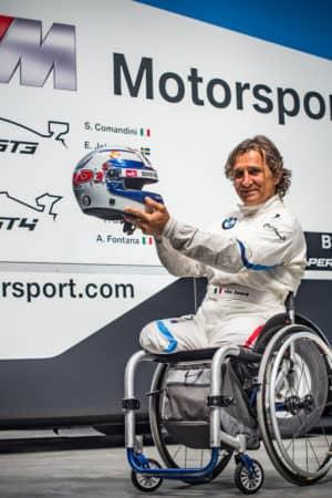 Infinito Alex Zanardi: correrà nell'ultimo round del Campionato Italiano GT con una M6 GT3!