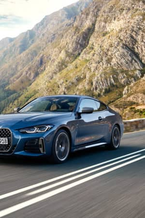 Nuova BMW Serie 4 Coupé: griglia extra-large e tanti motori mild hybrid