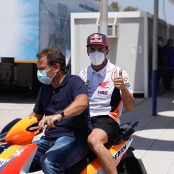 """Marquez, Rins e Crutchlow potranno correre a Jerez, sono """"fit to race"""""""