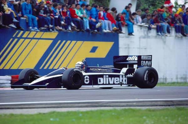 Italien Brabham-BMW driver Elio de Angelis