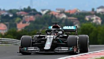 Nelle FP1 del GP d'Ungheria Hamilton è 1°…con gomme dure. 6^ e 7^ le due Ferrari