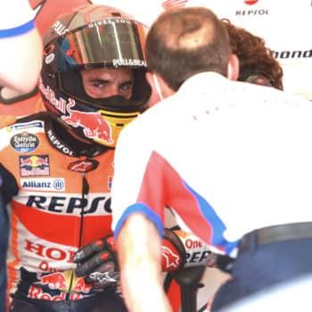 Marc Marquez salterà – almeno – il GP di Brno: al suo posto Stefan Bradl