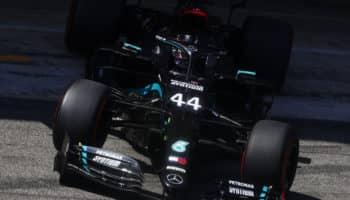 Hamilton davanti a Bottas nelle FP3 del GP di Spagna. 6° Leclerc, 12° Vettel