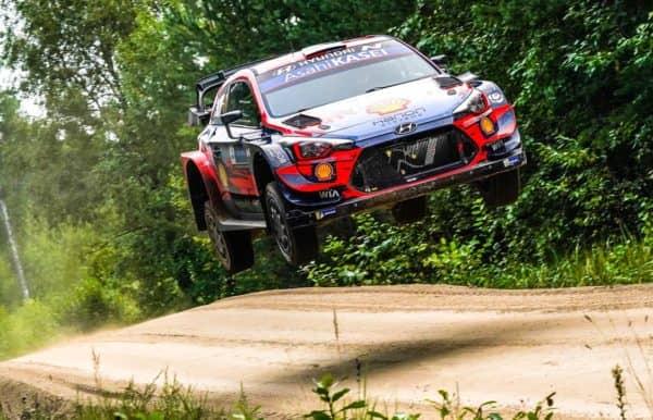Tanak - Breen: al Rally Estonia è tandem Hyundai. Ancora ritirato Neuville