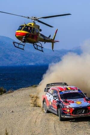 Neuville in testa al Rally Turchia. Tanak, ritirato, saluta il Mondiale