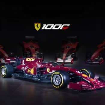 La Ferrari si tuffa nel passato: ecco la livrea celebrativa dei 1000 GP ispirata alle 125 F1