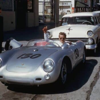 "James Dean e la Porsche 550 Spyder: ""The Little Bastard"""