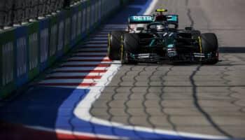 Bottas si prende le FP1 in Russia. 2° Ricciardo, solo 19° – e senza patemi – Hamilton