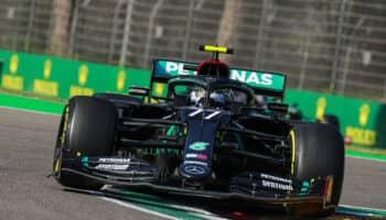 Bottas beffa Hamilton: è pole a Imola! Eccezionale Gasly, 7° Leclerc