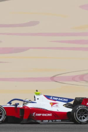 F2, la sprint race del Bahrain va a Shwartzman. Disastro Ilott, sorride Schumi