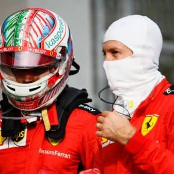 """Vettel: """"Credo di rivedere molto di me in Charles. Il podio sfumato? Avrà altre occasioni"""""""