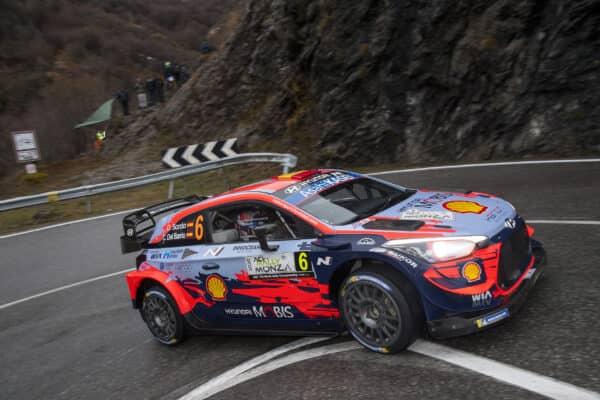 #6 D. Sordo - C. Del Barrio (Hyundai i20 Coupe WRC)