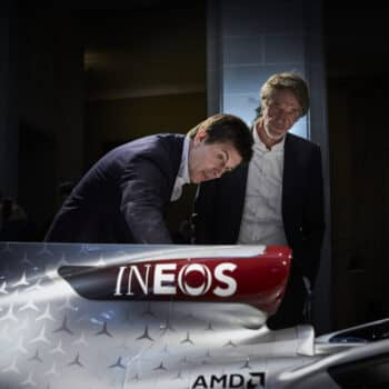 Mercedes-AMG Petronas Formula One Team Announces Principal Partnership with INEOS