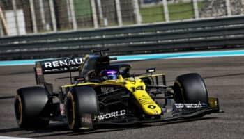 Test Abu Dhabi: Alonso batte il tempo delle qualifiche di Ocon. Fuoco meglio di Shwartzman