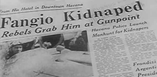 fangio kidnapped