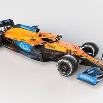 McLaren svela la propria arma per la stagione 2021 di Formula 1: ecco la MCL35M