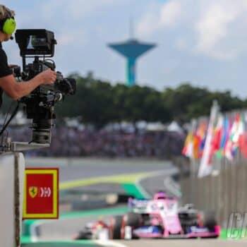 formula 1 cameraman