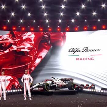 Presentazione Alfa Romeo Racing 41